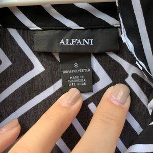 Alfani collared dress